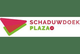 Schaduwdoek Plaza Infinity Blue Client